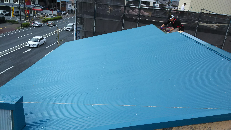 あっちもこっちも屋根工事