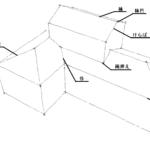 屋根の部位名と役物の関係