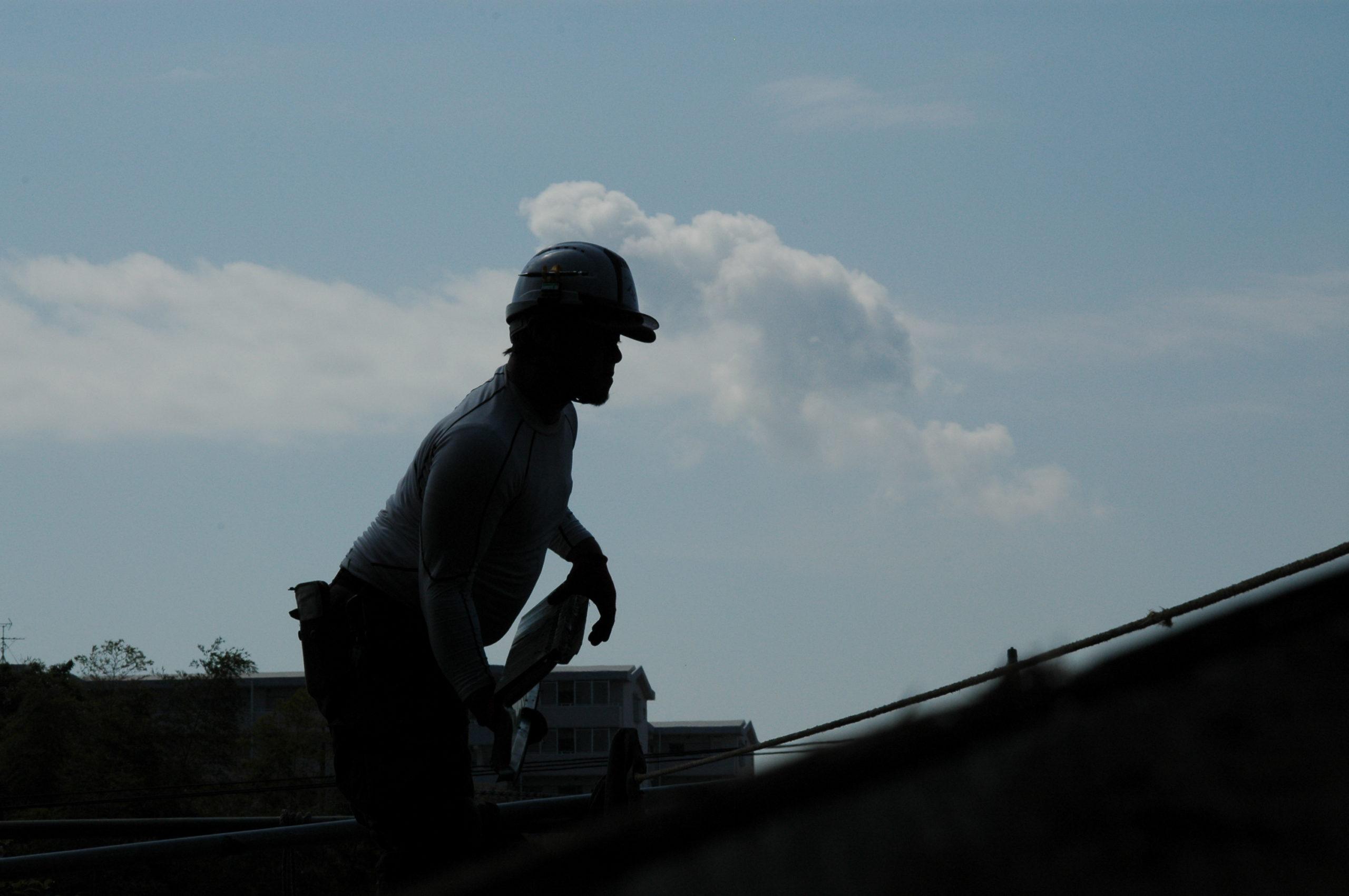 屋根の上のアスリート その1
